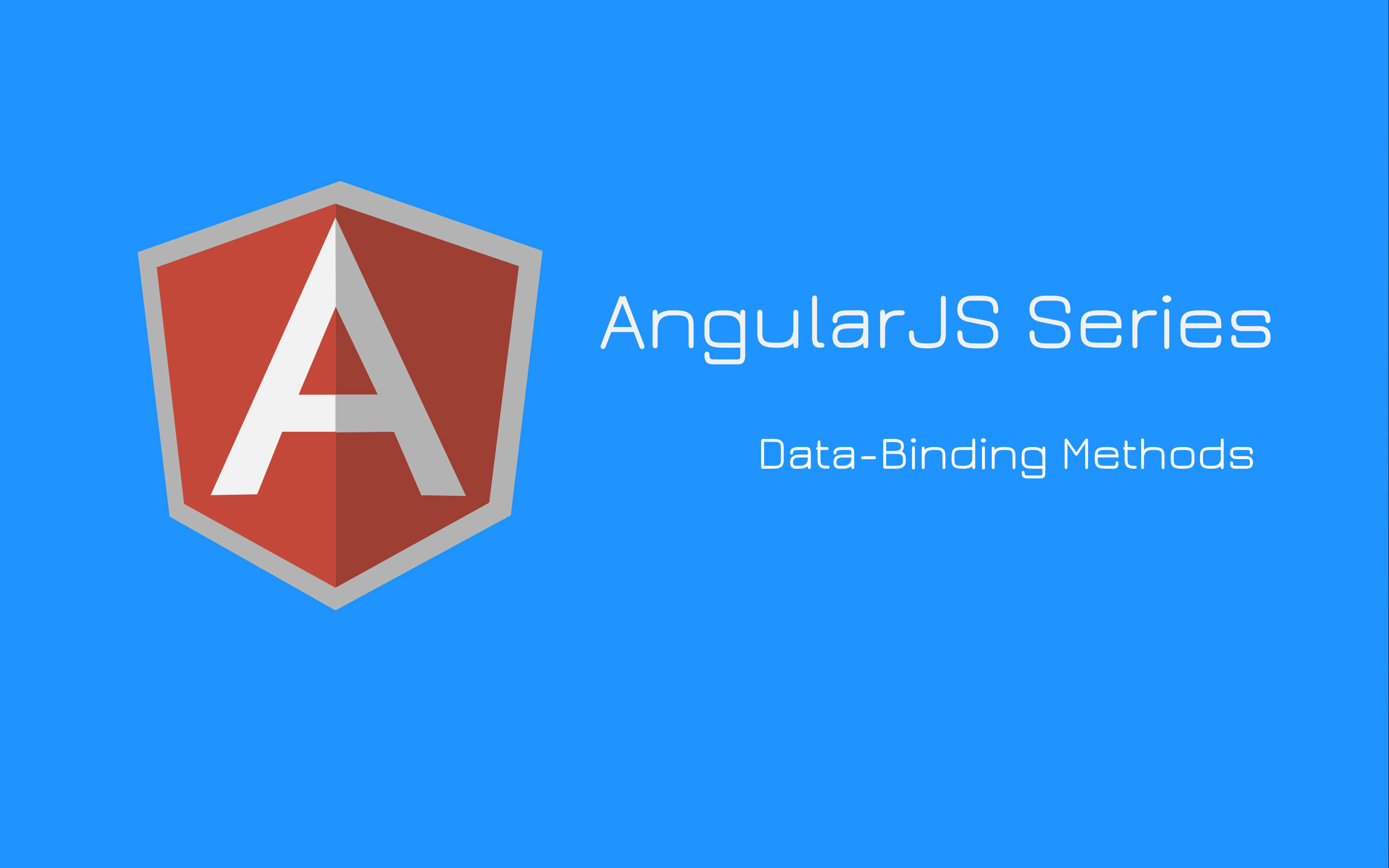 Data-binding methods in AngularJS | Valuebound