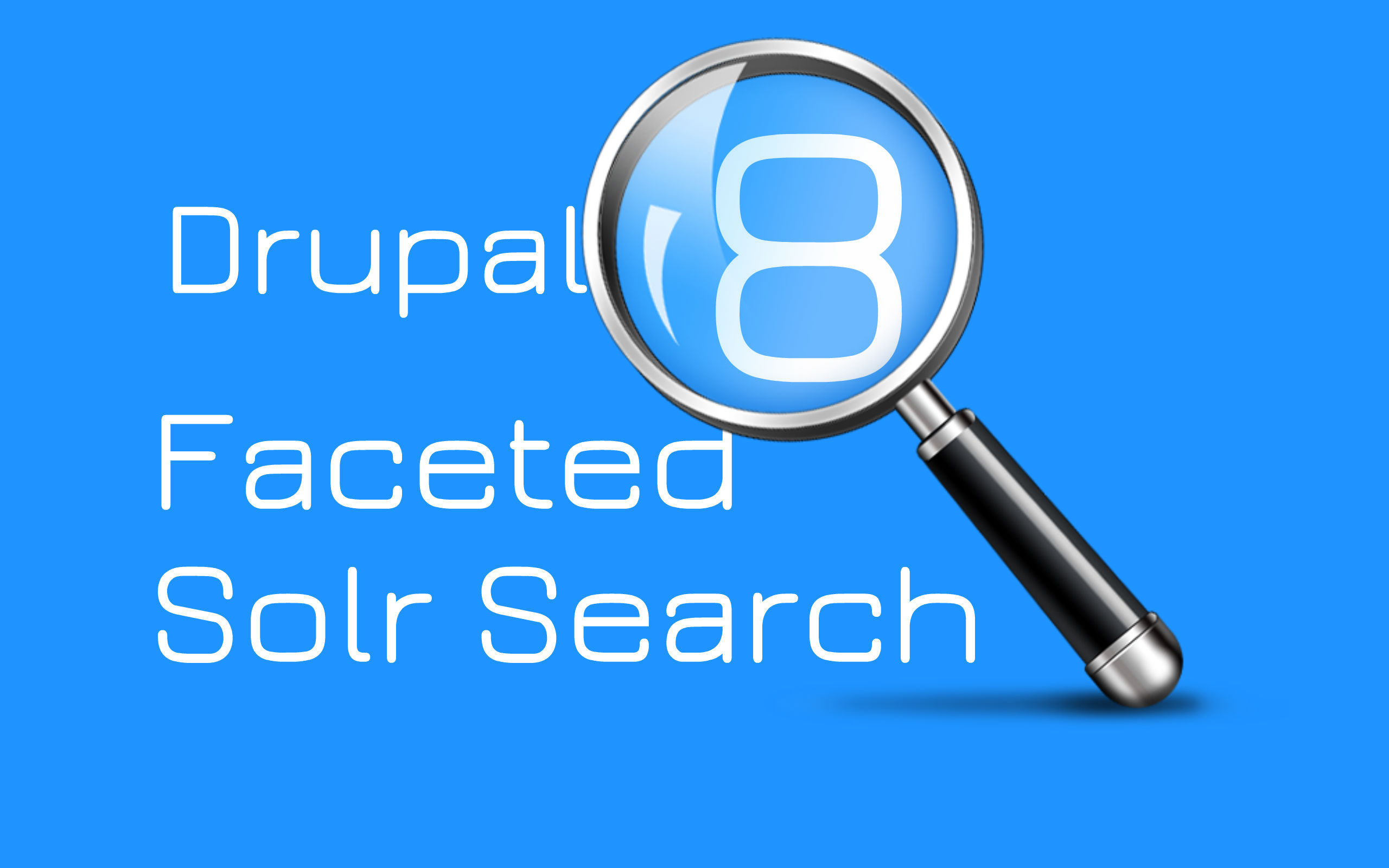 Implement Faceted search with Solr in Drupal 8?