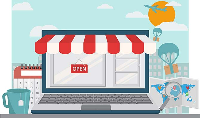 Drupal commerce online store